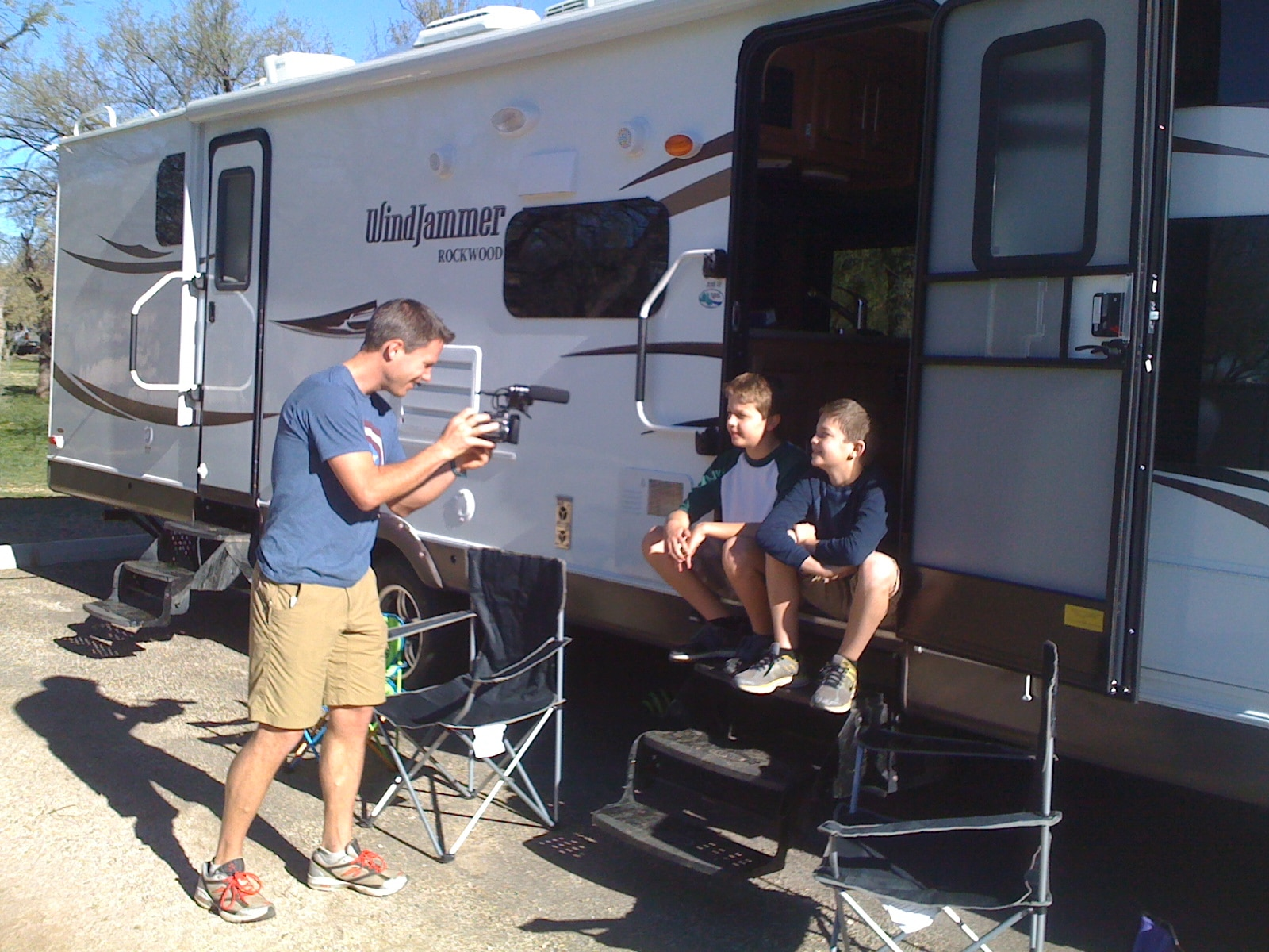 Rving with kids