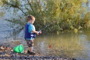 Teaching Kids to Fish