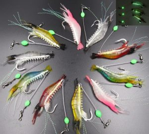 GuassLee Updated Shrimp Bass Fishing Lure